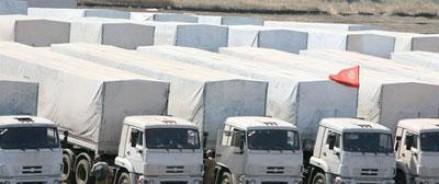 Гуманитарная колонна отправится в Донбасс, как только урегулируется вопрос с Украиной