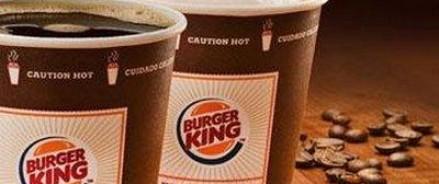 Burger King предложил учащимся школ сменить курение на употребление кофе