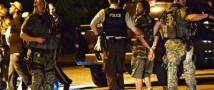 В Фергюсоне ранили полицейского