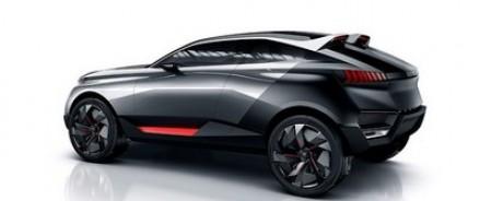 Peugeot презентовала новый концепт Quartz
