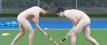 Английские хоккеисты провели акцию протеста – разделись догола в поддержку борьбы с гомофобией