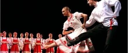 Московский государственный ансамбль танца «Русские сезоны» представляет большую концертную программу «Торжество танца» в театре «Русская песня»