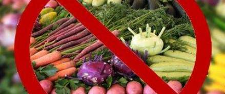 Албания больше не будет поставлять России овощи и фрукты