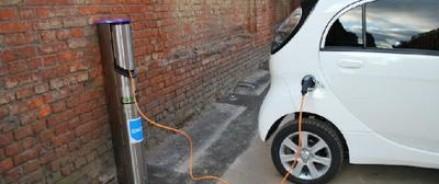 В Петербурге теперь можно зарядить электромобиль