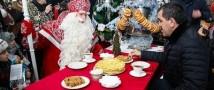 Дед Мороз зажег в Ингушетии самую высокую елку России