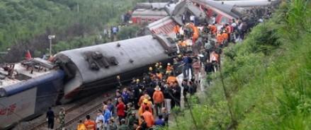 В Бразилии в результате аварии на железной дороге пострадали 69 человек