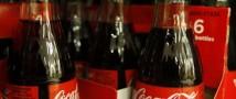 Россияне стали покупать меньше кока-колы