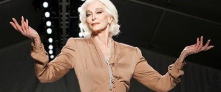 Насыщенная жизнь 83-летней модели