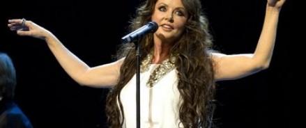 Одна из тренировок певицы Сары Брайтман прошла на территории российского леса