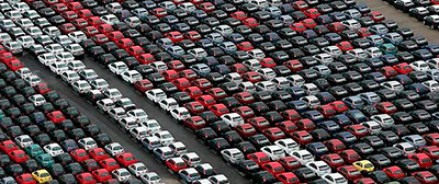 Кризис не мешает росту автомобилизации в России