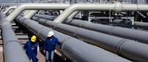Украина просит Россию продлить действие «зимнего» газового пакета