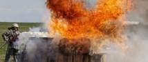 Пожар на полигоне в Ростовской области локализован