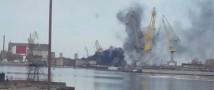 Пожар на атомной подлодке «Орел» удалось потушить только после затопления сухого дока водой