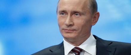 Читатели Time признали Путина самым влиятельным человеком в мире