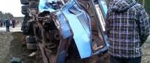 Полиция занялась расследованием столкновения поезда с автобусом в Ленобласти