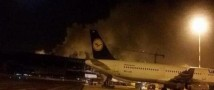 Аэропорт Рима закрыт из-за пожара