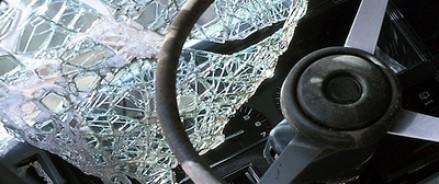 На Рублево-Успенском шоссе бетономешалка врезалась в маршрутку: есть раненые