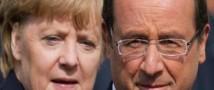 Меркель и Олланд не удовлетворены тем прогрессом, который наблюдается в  Украине