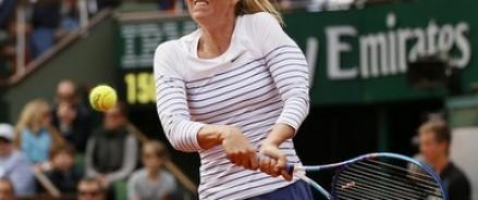 Мария Шарапова проиграла Люси Шафаржовой и вышла из «Ролан Гаррос»