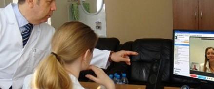 Жителей отдаленных деревень врачи будут консультировать по Skype