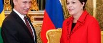 Путин и президент Бразилии обсудили вопросы инвестиционного сотрудничества