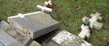 В Германии вандалы осквернили более 500 могил воинов СССР