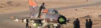 В Сирии МИГ упал на рынок. Есть жертвы