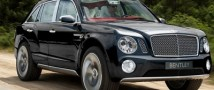 В России открыт прием заказов на новый внедорожник Bentley Bentayga