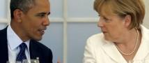 Лидеры Германии и США обсудили возросшую напряженность в Донбассе