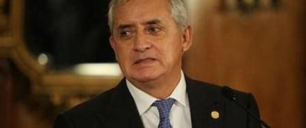 Президента Гватемалы возьмут под арест