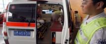 В Китае произошло возгорание туристического автобуса, в котором находились граждане РФ