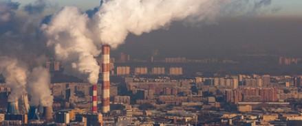 В Москве оказалась в огне ТЭЦ