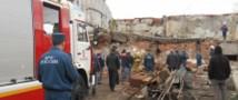 В Новосибирске обрушилось здание, есть жертвы