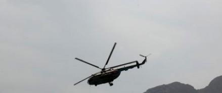 Военный вертолет аварийно сел Таджикистане