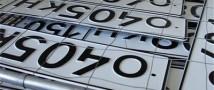 Москвичи простаивают в очередях за эксклюзивными автономерами
