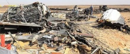 Американские спутники зафиксировали вспышку тепла во время крушения самолета над Синаем