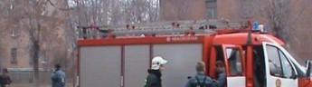 Утренний пожар в общежитии МАИ