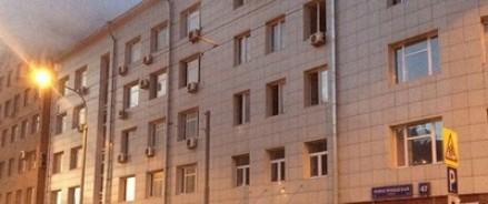 Пожар в Москве: перекрыто движение по Новослободской улице