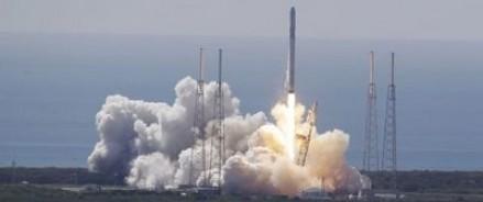 SpaceX опубликовали видео первой успешной посадки ракеты Falcon 9