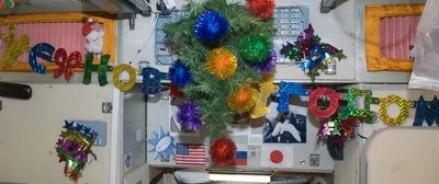 На МКС космонавты 15 раз за сутки встретят Новый год