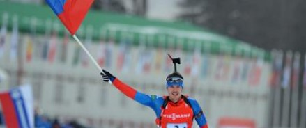 Российские биатлонисты выиграли этап Кубка мира