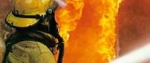 В Москве сгорел швейный цех