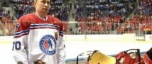 Путин пообещал сыграть в русский хоккей