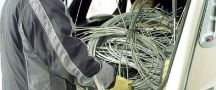 В колонию строгого режима за украденный кабель