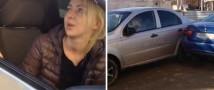В Краснодаре пьяная автоледи протаранила 17 автомобилей