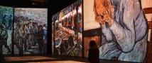 Число посетителей выставки Ван Гога измерили в Серегах и каблуках