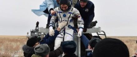 Экипаж МКС имитировал высадку на Марс в Казахстане