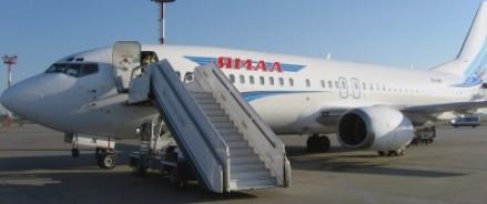 Пассажирский «Боинг» произвел аварийную посадку из-за потери колеса