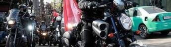 Мотопробег российских байкеров, в честь Дня Победы, вновь не по нраву властям Польши (фото)