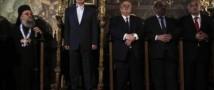 Путина на Афоне, как всегда, встретили тепло (видео)